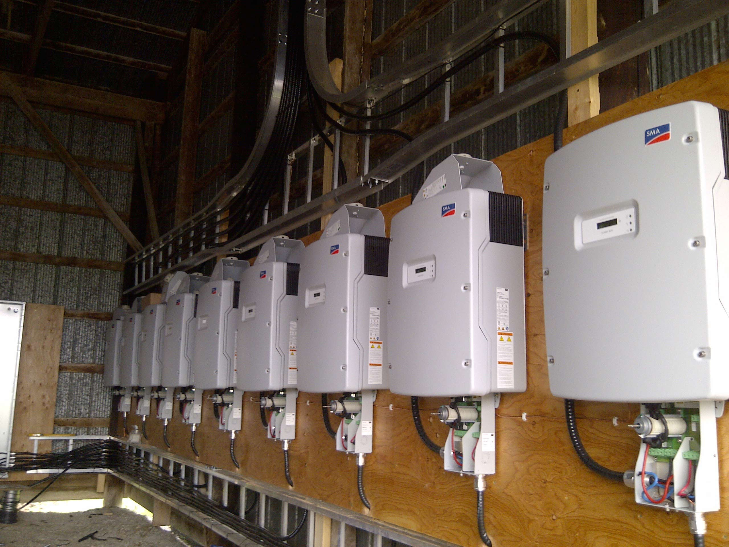 Swiss light inverters