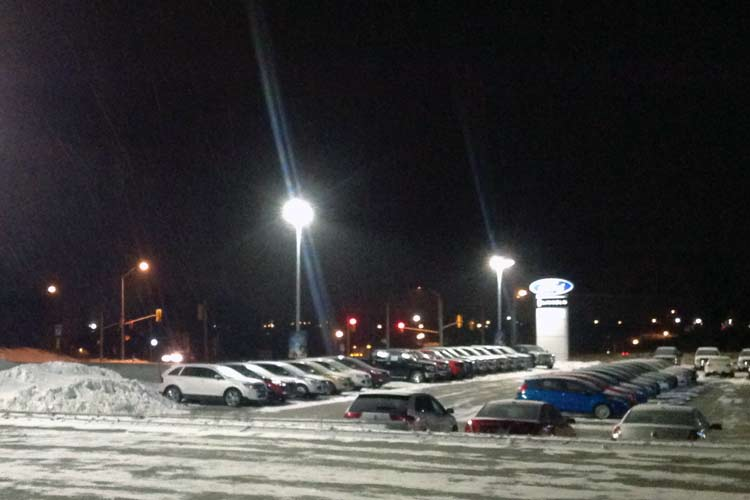expressway ford dealership lighting