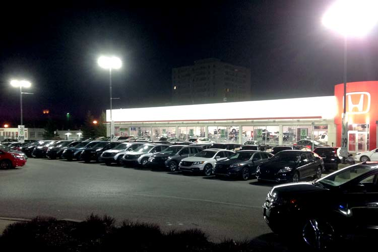london honda outdoor lighting system