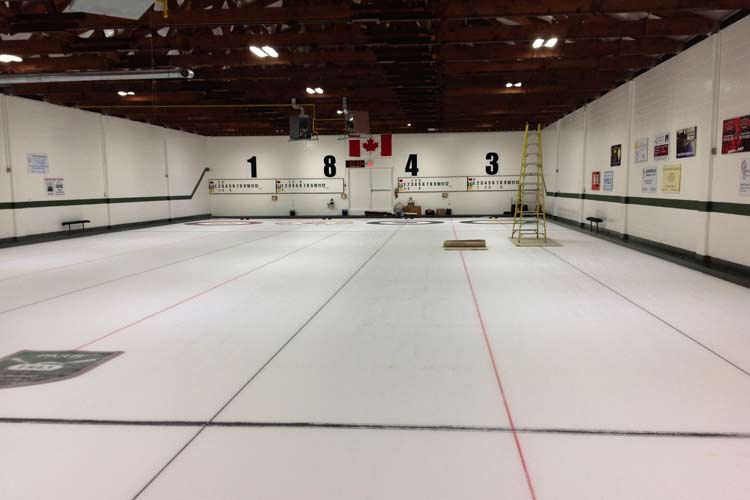 paris curling club led lighting