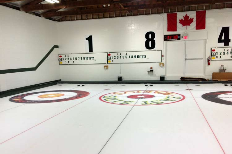 paris curling club lighting retrofit