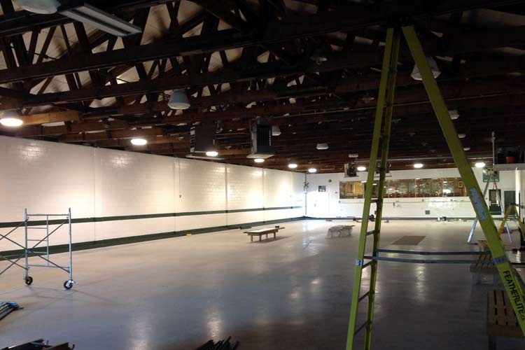 paris curling club lighting solutions