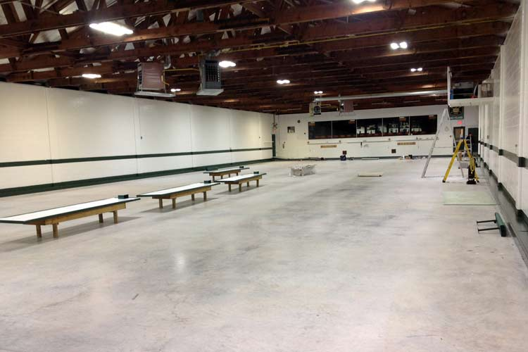 paris curling club lighting system