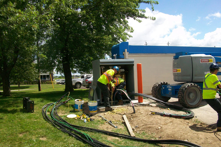 Electrical-service-installation