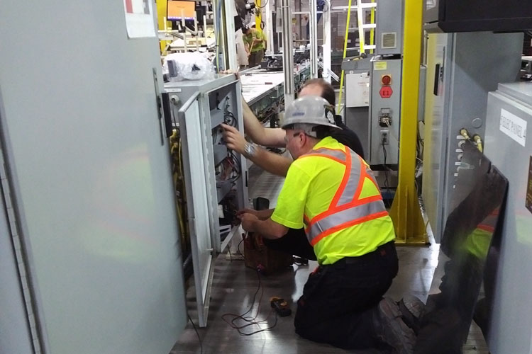 recycling-plant-electrical-installation