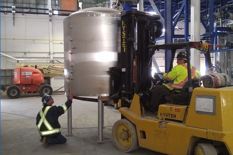 recycling-plant-equipment-installation