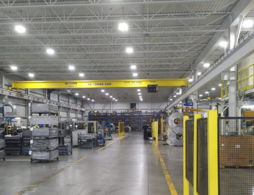 Another manufacturing facility takes advantage of SaveONEnergy lighting rebates.