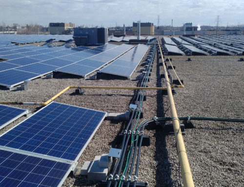 Panasonic and Arcadian continue to build rooftop solar.