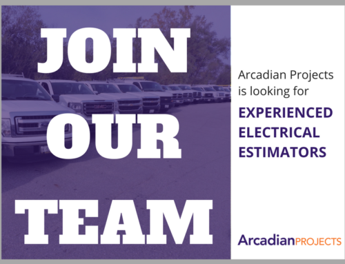 HIRING: EXPERIENCED ELECTRICAL ESTIMATOR