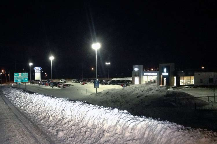 expressway ford dealership lighting project